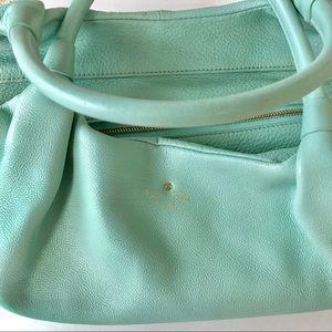 Genuine KATE SPADE handbag in Tiffany blue